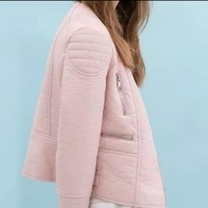 Faux Pink Zara Jacket